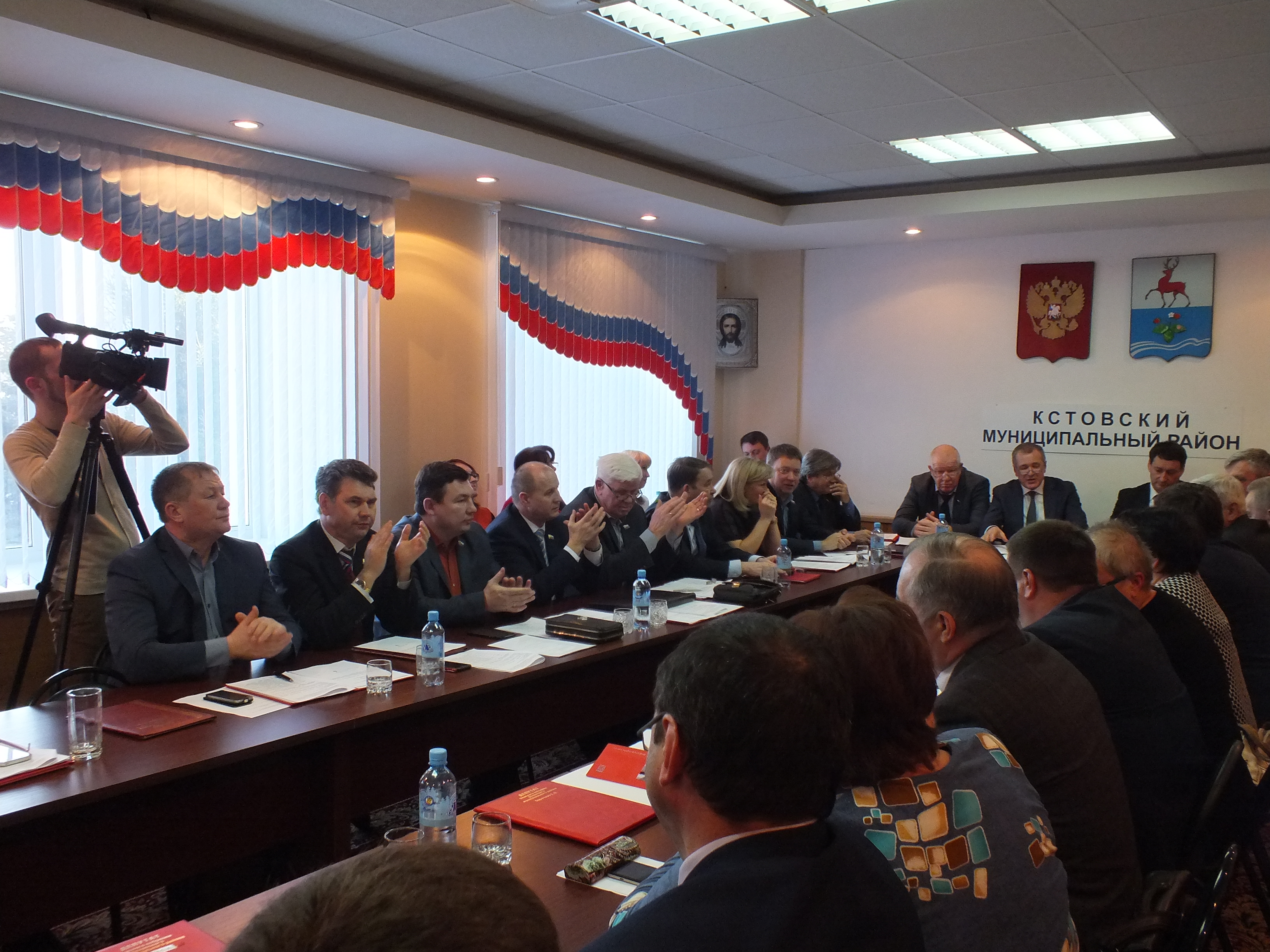 Виталий Ковалев избран новым главой администрации Кстовского района Нижегородской области