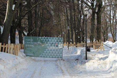 Благоустройство Александровского сада в Нижнем Новгороде завершится в июле 2021 года