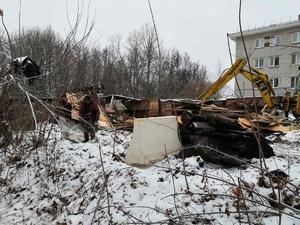 Аварийные сараи в Советском районе снесут за три миллиона рублей