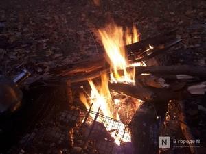 Четвертый класс пожароопасности установился в 19 районах Нижегородской области