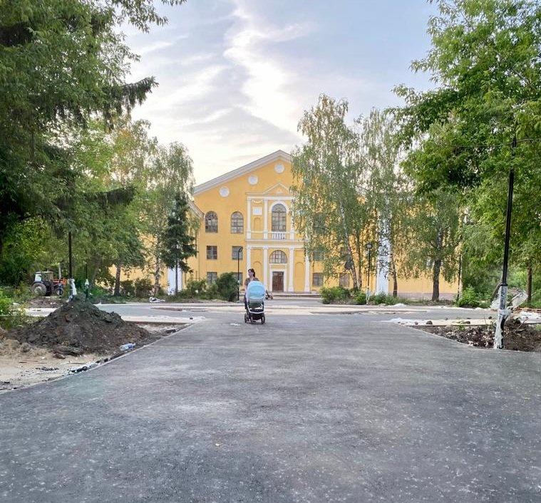 Благоустройство сквера на улице Премудрова в Нижнем Новгороде выполнено на 75% - фото 1