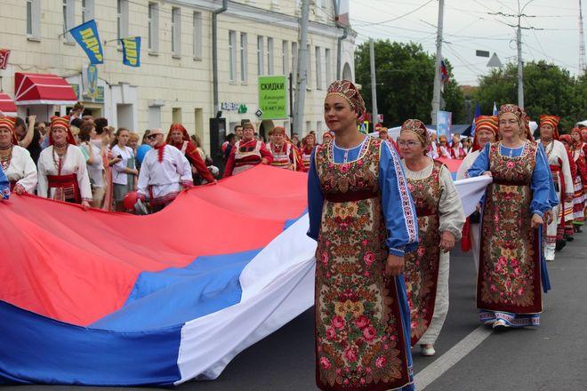 Фестивали духовых оркестров и Дружбы народов прошли в Нижнем Новгороде в День России - фото 26