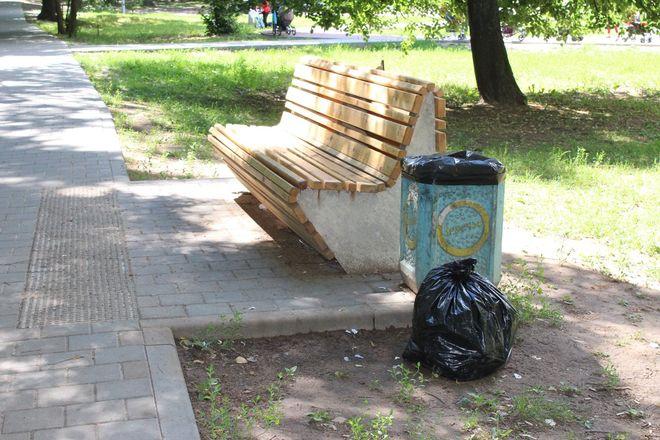 Не прошло и года: нижегородские скверы нужно благоустраивать заново - фото 47