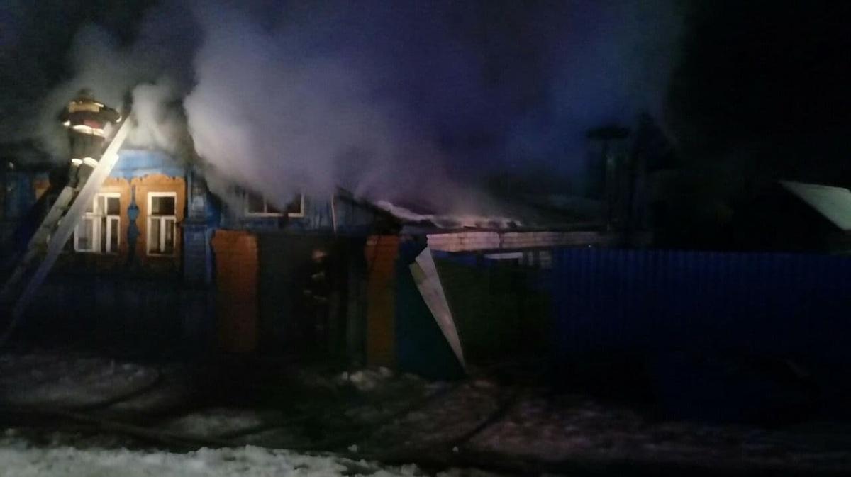 Двое взрослых и ребенок погибли в страшном пожаре в Семенове - фото 1