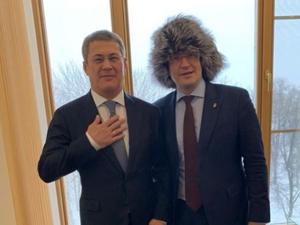Башкирский колаксын порадовал губернатора Нижегородской области