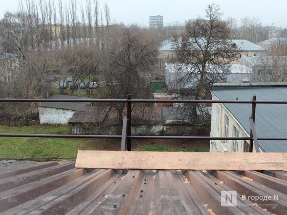 Текущую крышу в нижегородской гимназии № 67 отремонтируют через две недели - фото 23