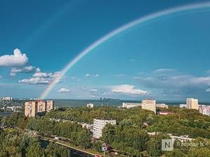 Солнечно-дождливая погода намечается в эти выходные в Нижегородской области