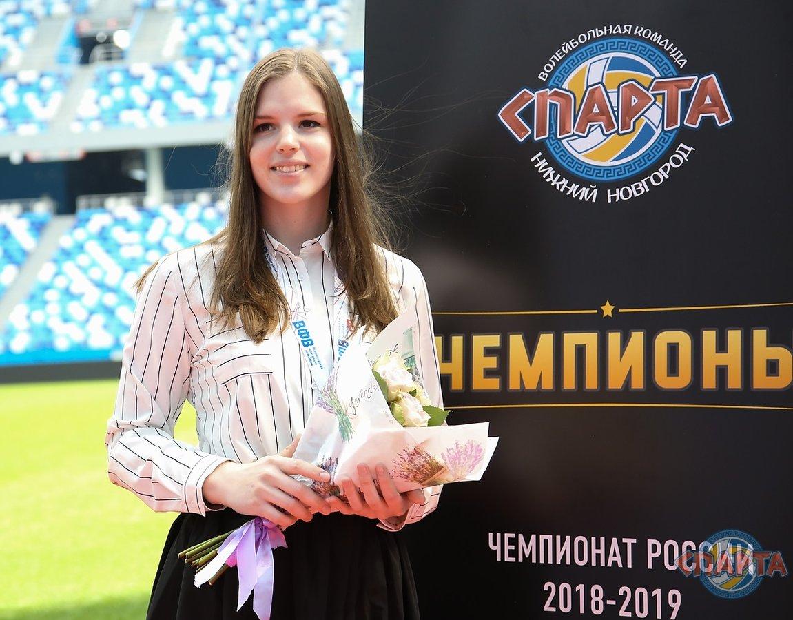 Доигровщица Ольга Шашкина продлила контракт со «Спартой» - фото 1