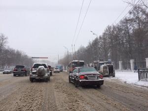 Осложнение дорожной ситуации ожидается в Нижнем Новгороде