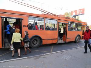Схема движения троллейбусов по Московскому шоссе временно изменена