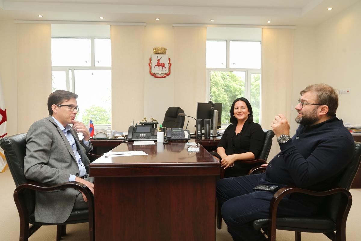Михаил Пореченков похвалил нижегородцев за любовь к кинематографу - фото 1