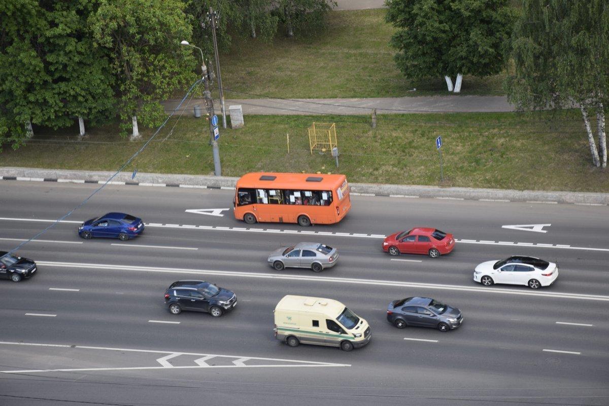 На проспекте Гагарина могут организовать реверсивное движение