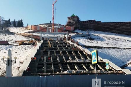 Чкаловская лестница откроется после реставрации 1 августа