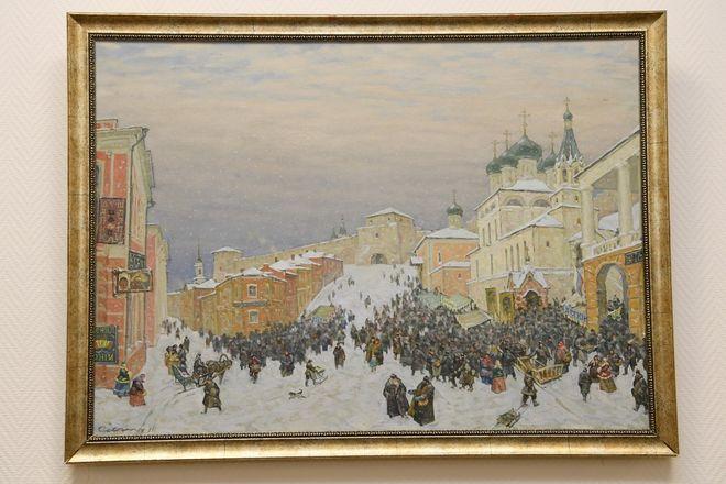 Выставка художника Рудольфа Соснина открылась в Законодательном собрании Нижегородской области - фото 3