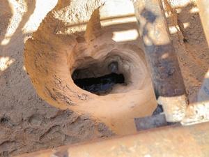 Аварийный коллектор на Мещерском бульваре отремонтируют до конца лета