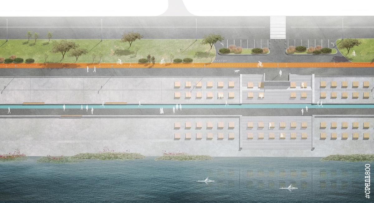 Около ста лежаков установят на Гребном канале - фото 1