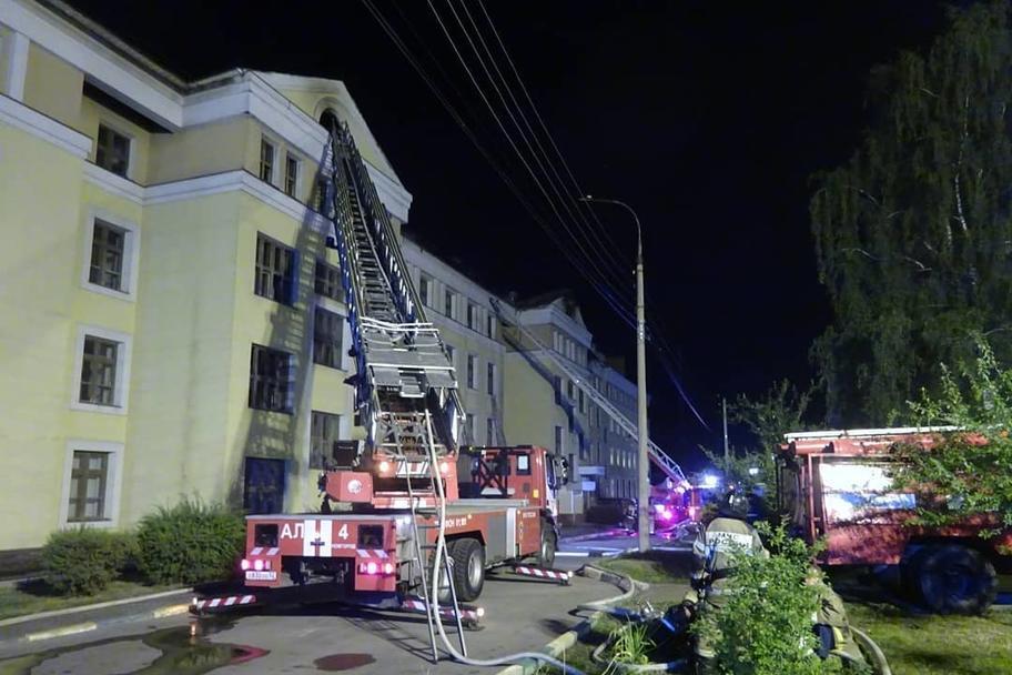 Пожар потушили в общежитии Приволжского медуниверситета