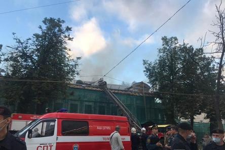 Восстановление горевшего Литературного музея в Нижнем Новгороде идет в графике