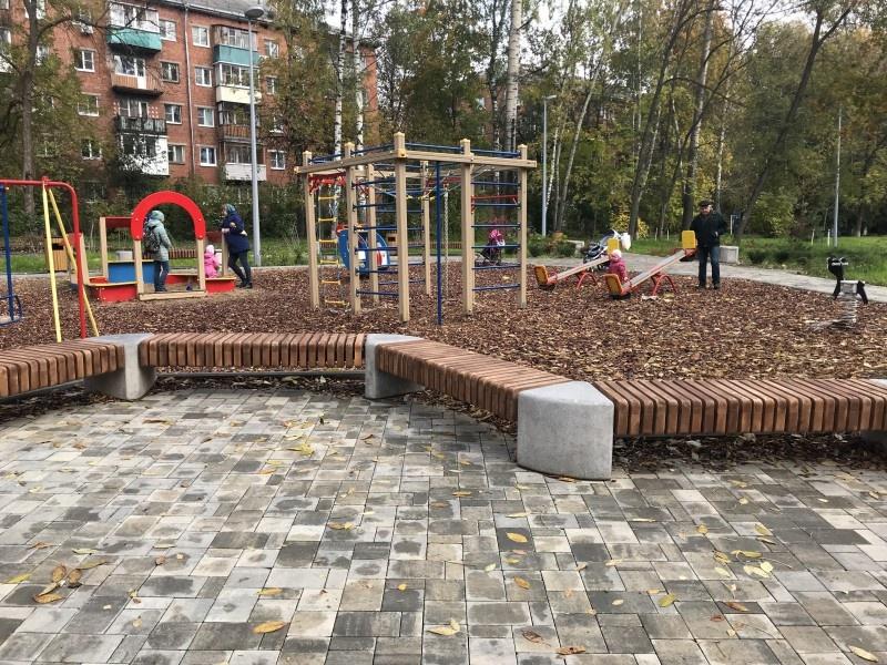 Детский городок на улице Сурикова победил в конкурсе благоустройства