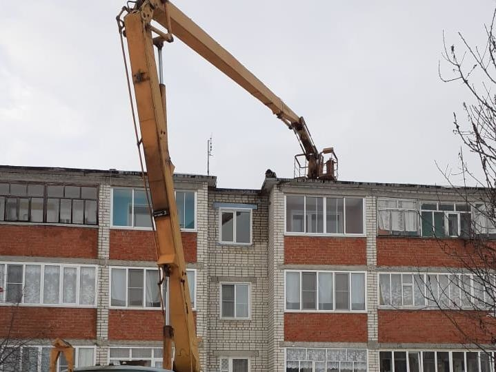 Крышу дома в Сеченове отремонтировали по просьбе жителей - фото 1
