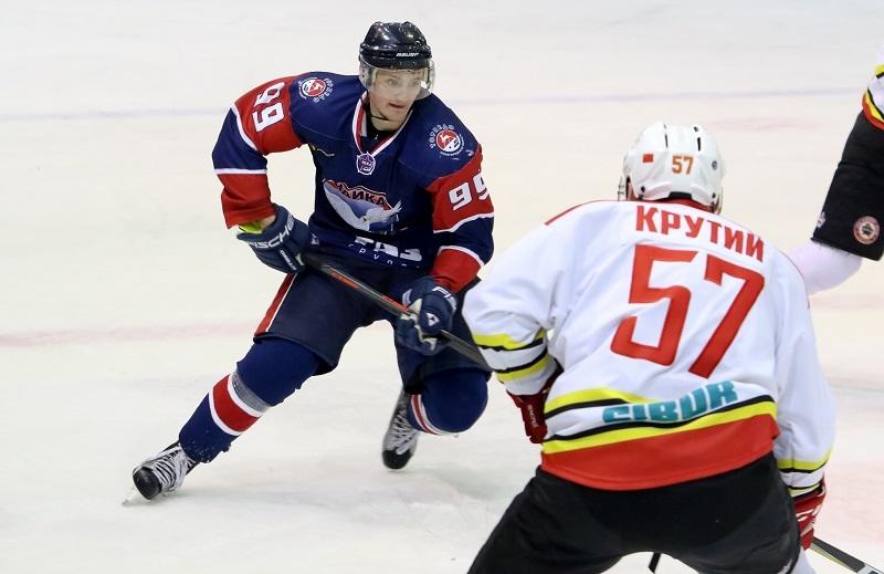 Нижегородская «Чайка» вновь обыграла «Серебряных Львов» на собственном льду