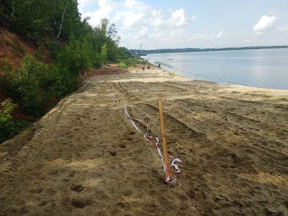 Виновных в складировании песка на берегу Волги оштрафовали на 200 тысяч рублей - фото 3