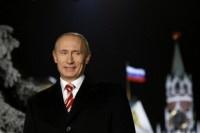 Президент страны Владимир Путин поздравил россиян с Новым годом (Видео)