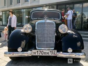 Нижегородские владельцы ретро-автомобилей провели выставку, приуроченную к «Маршу Победы»