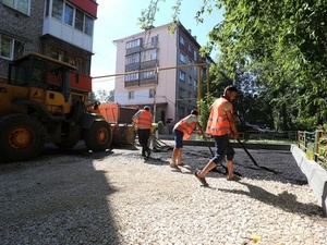 Дворы на проспекте Гагарина благоустроят до 1 сентября