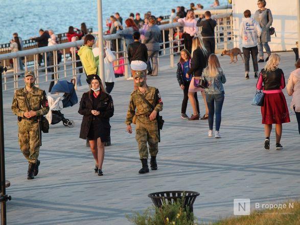Праздник в пандемию: как Нижний Новгород отметил 799-летие - фото 86