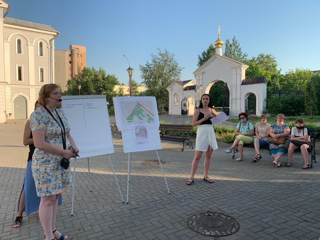 Прогулочная зона с цветниками появится на улице Героя Попова - фото 1