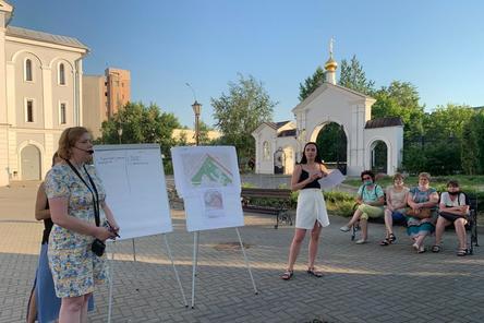 Прогулочная зона с цветниками появится на улице Героя Попова