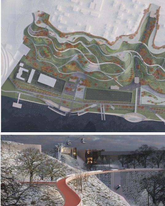 Девять вариантов развития парка «Горки» предложили нижегородские студенты - фото 5