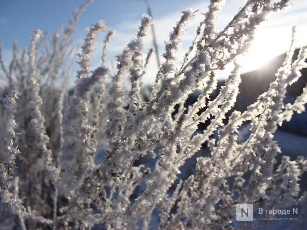 Об аномальных морозах до -30…-33ºС предупреждают жителей Нижнего Новгорода - фото 1
