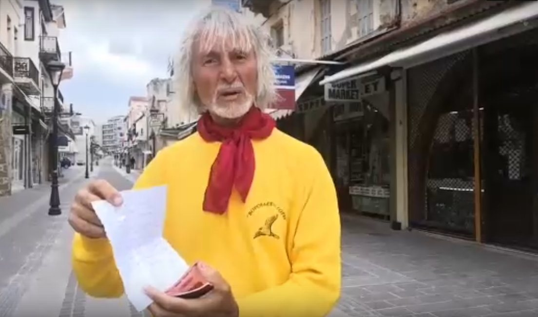 Нижегородский путешественник Валентин Ефремов застрял на Крите из-за коронавируса
