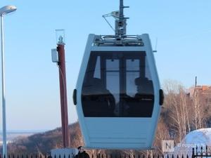Нижегородская канатная дорога изменила режим работы на новогодние праздники