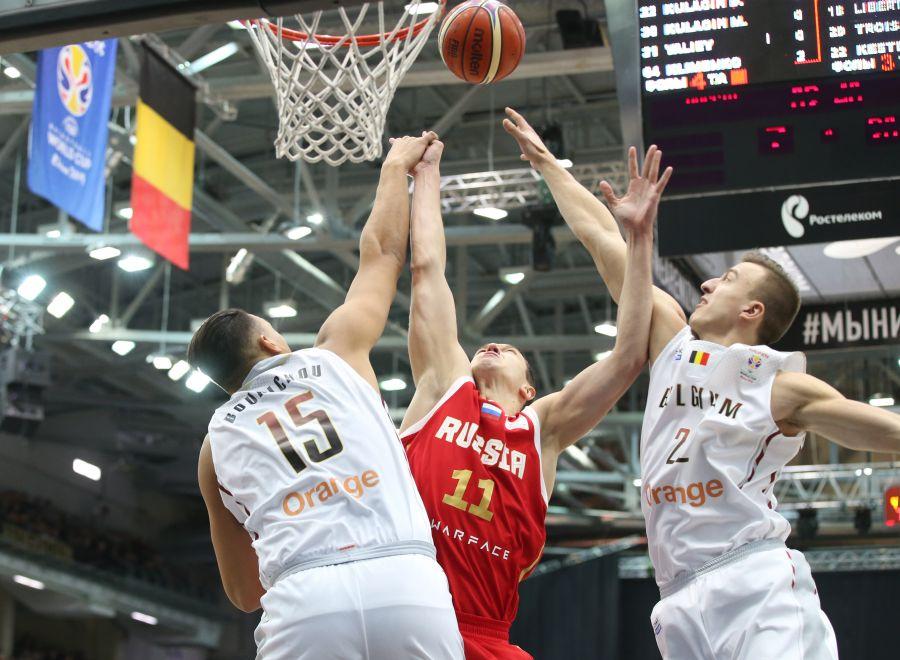 Карасев – в заявке сборной России на матч с Бельгией
