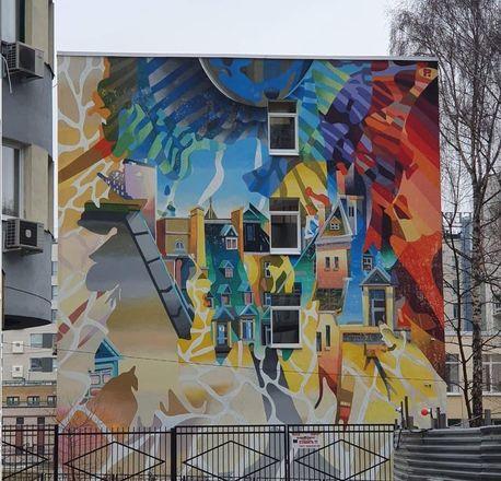 Стрит-арт по соседству: прогулка по городу красок - фото 2