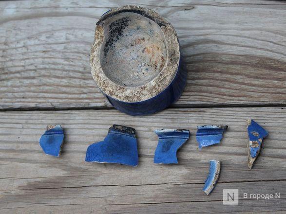 Турецкую трубку XIX века и древнюю «косметичку» нашли археологи в центре Нижнего Новгорода - фото 5