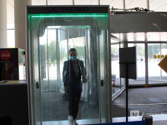 Уникальные дезинфекционные тоннели появились в нижегородском аэропорту - фото 12