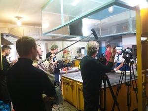 Известный повар Александр Белькович накормил футболистов нижегородского «Локомотива»