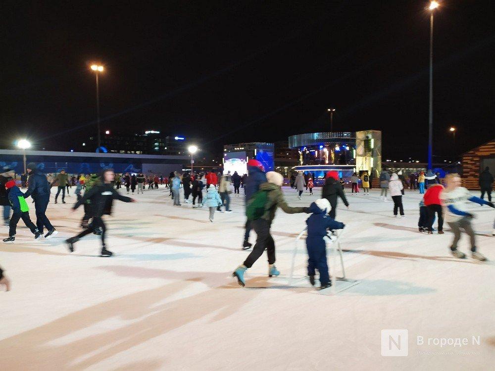 Каток на стадионе «Нижний Новгород»: как испортить себе вечер - фото 1