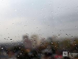 Сильные дожди ожидаются в Нижегородской области