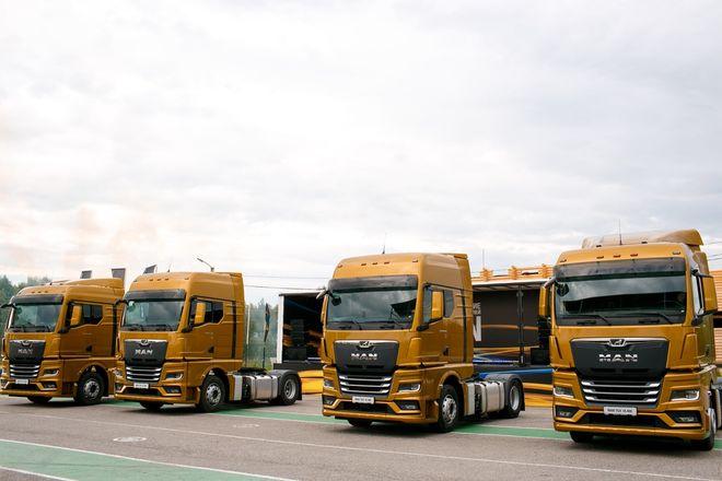 Немецкий лев в России: нижегородцам показали новые грузовики MAN - фото 3