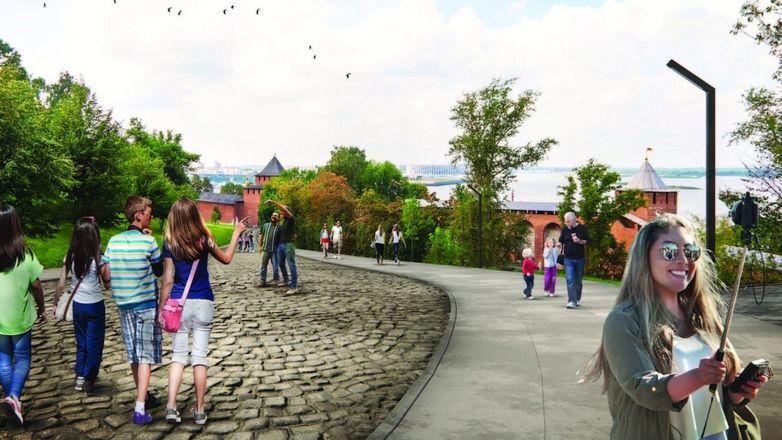 Как будет выглядеть обновленный Нижегородский кремль, показали в правительстве области - фото 3