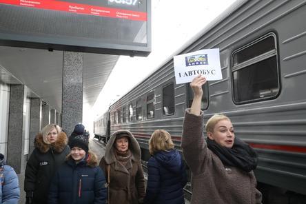 Участники первого железнодорожного круиза прибыли в Нижний Новгород