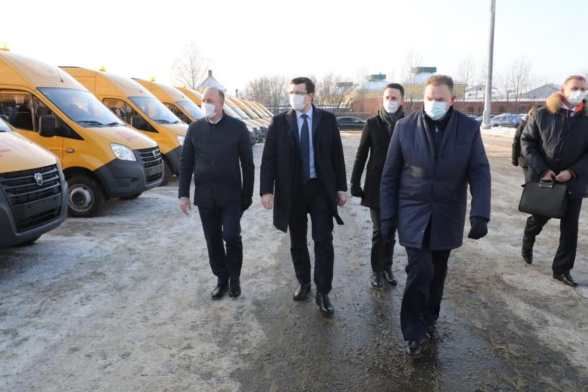 Парк школьных автобусов Нижегородской области увеличился почти на 15%