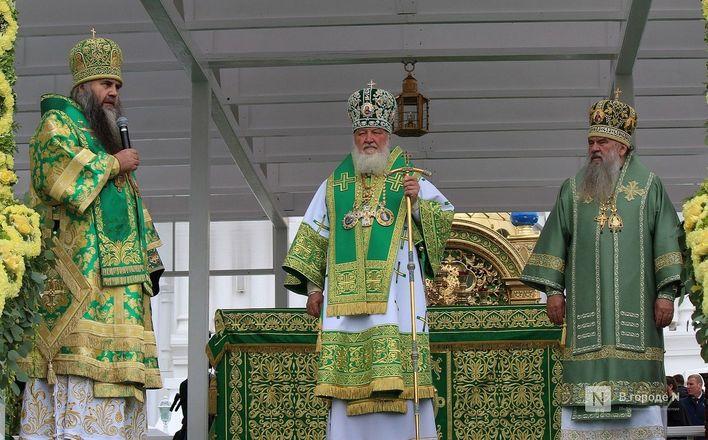 Патриарх Кирилл возглавил божественную литургию в Дивееве  - фото 19