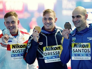 Нижегородский пловец Олег Костин завоевал «серебро» на чемпионате мира в Южной Корее