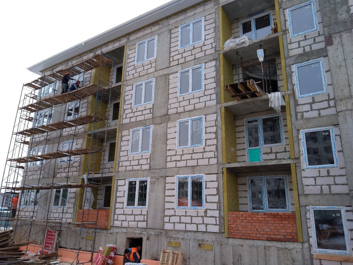 Два дома в ЖК «Новинки Smart City» сдадут в апреле